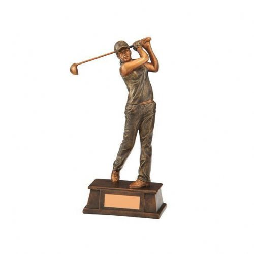 The Classical Female Golf Award 160mm
